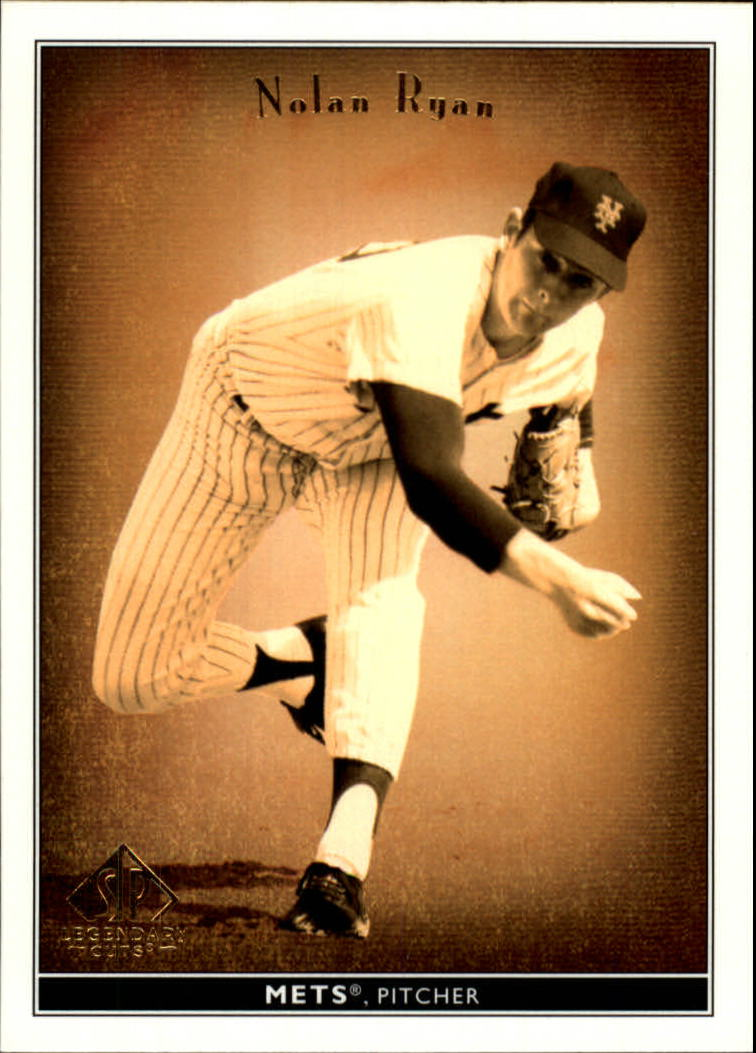 2002 SP Legendary Cuts #57 Nolan Ryan