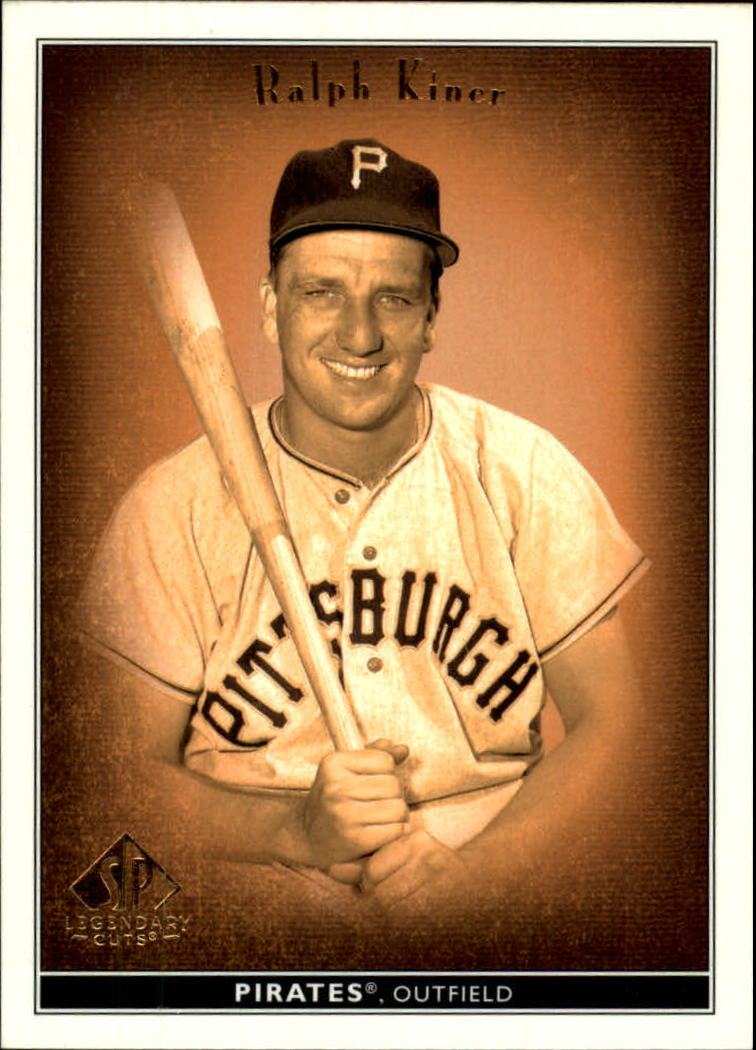 2002 SP Legendary Cuts #61 Ralph Kiner