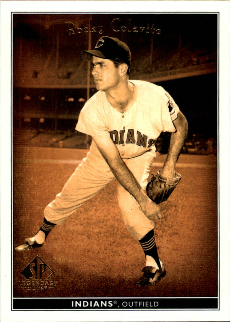 2002 SP Legendary Cuts #65 Rocky Colavito