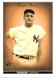 2002 SP Legendary Cuts #66 Roger Maris