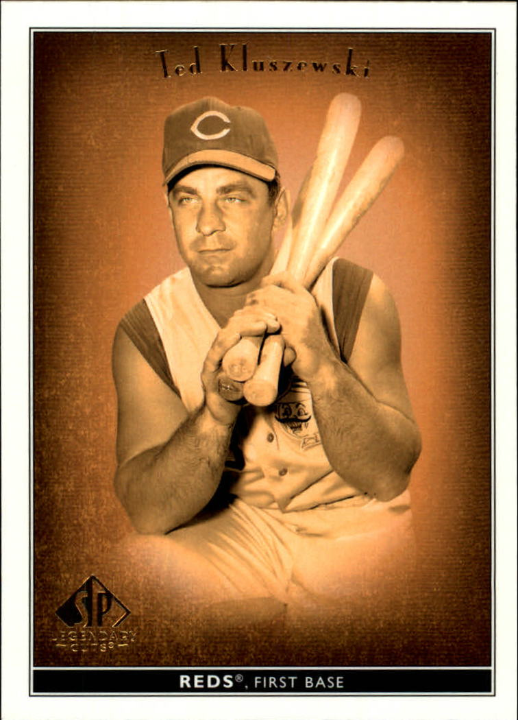 2002 SP Legendary Cuts #75 Ted Kluszewski