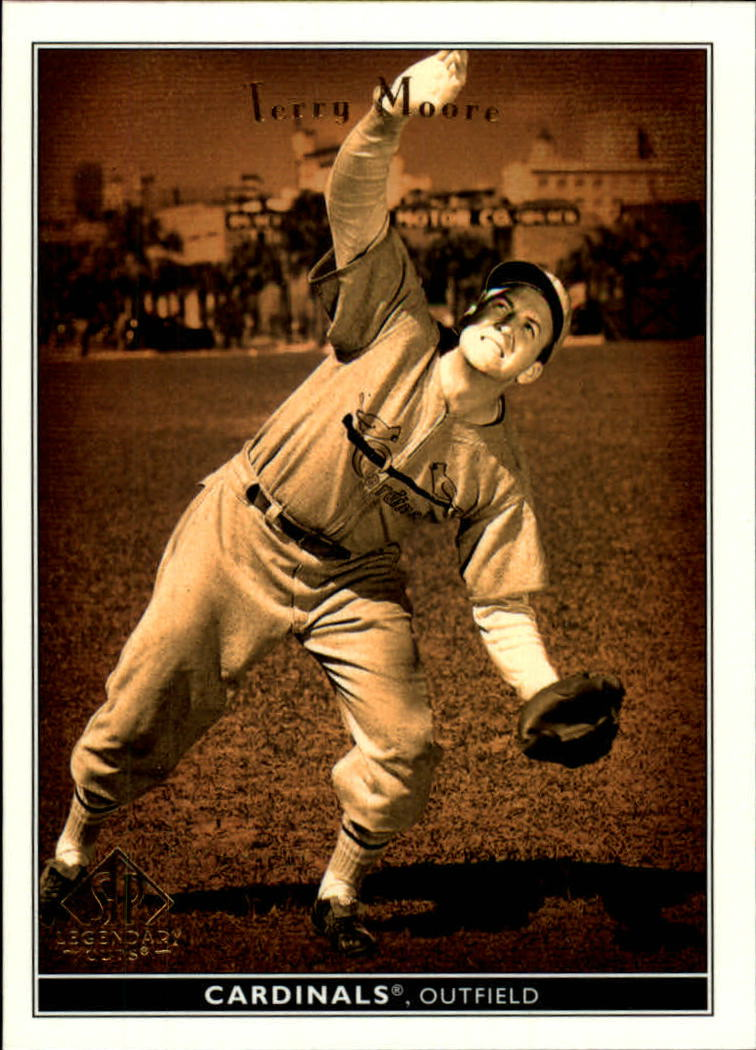 2002 SP Legendary Cuts #77 Terry Moore