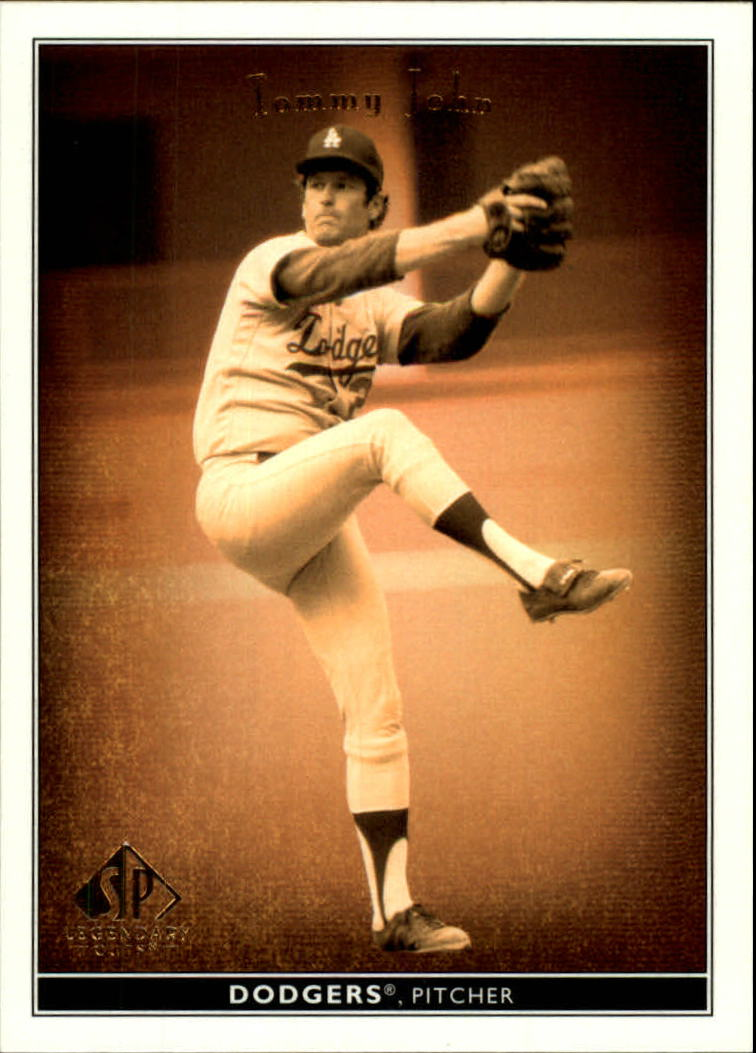 2002 SP Legendary Cuts #80 Tommy John
