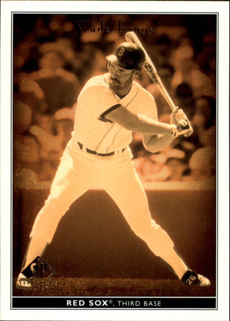 2002 SP Legendary Cuts #85 Wade Boggs