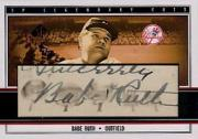 2002 SP Legendary Cuts Autographs #BRU Babe Ruth/3