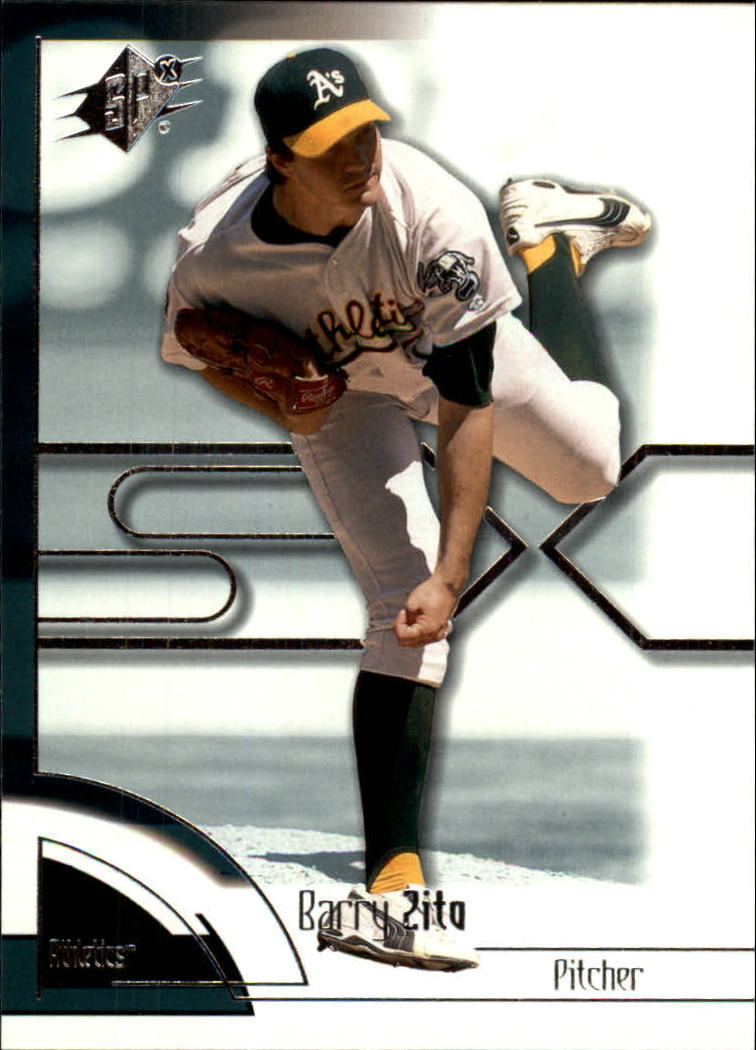 2002 SPx #6 Barry Zito
