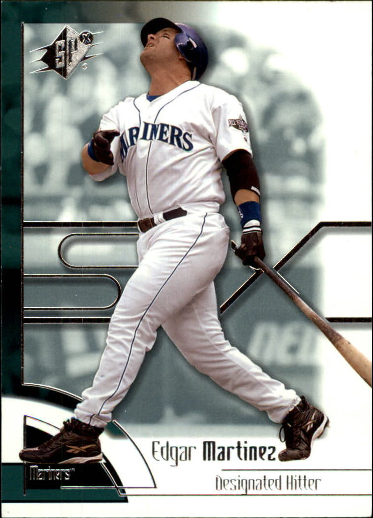 2002 SPx #14 Edgar Martinez