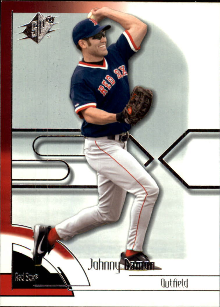 2002 SPx #26 Johnny Damon Sox
