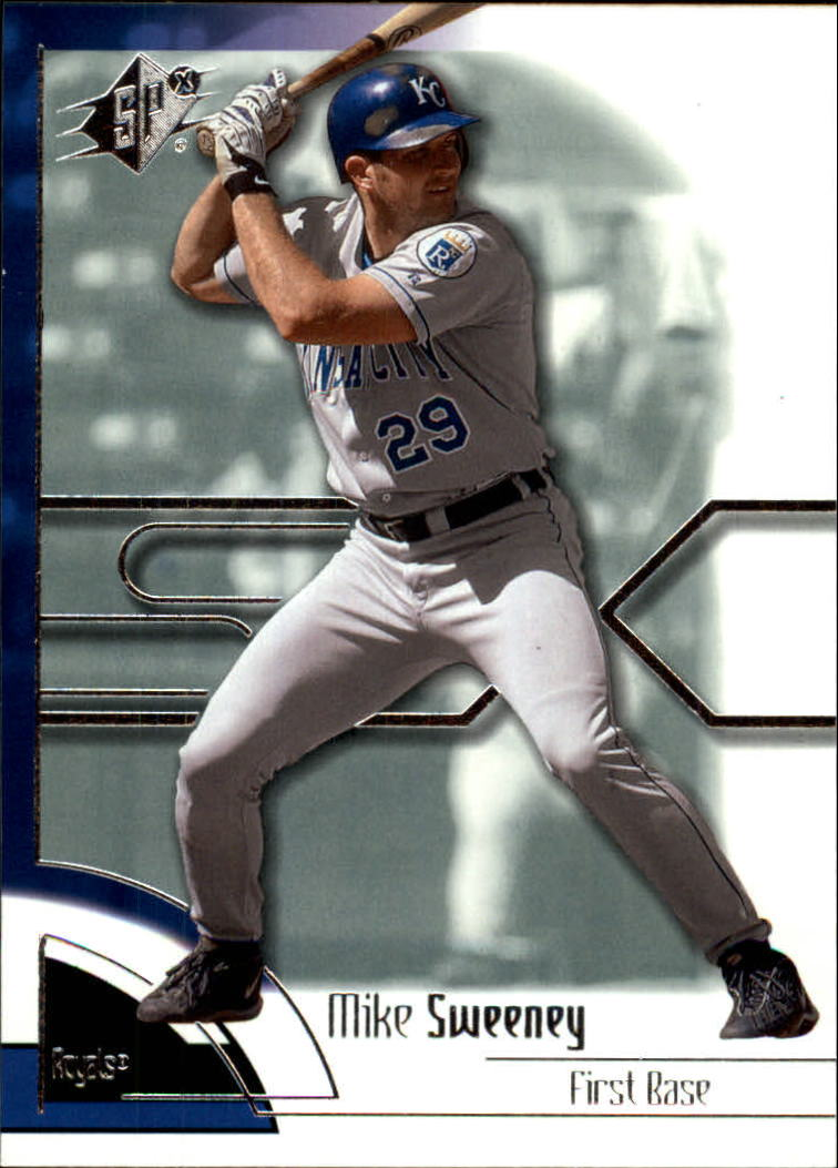 2002 SPx #27 Mike Sweeney