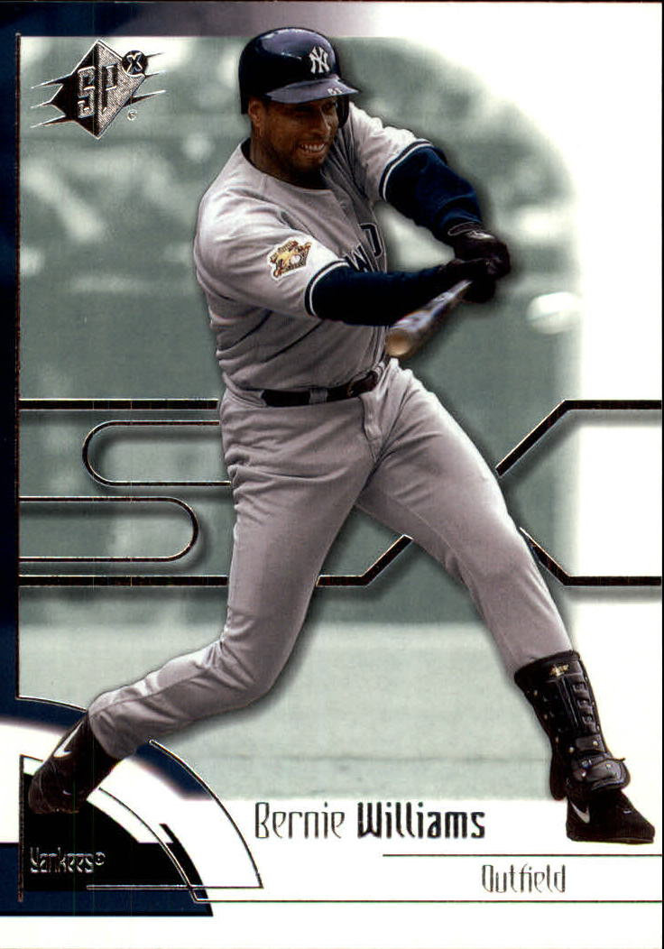 2002 SPx #37 Bernie Williams