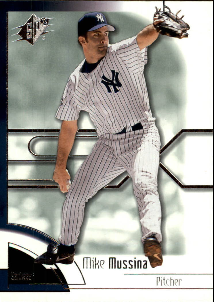 2002 SPx #41 Mike Mussina