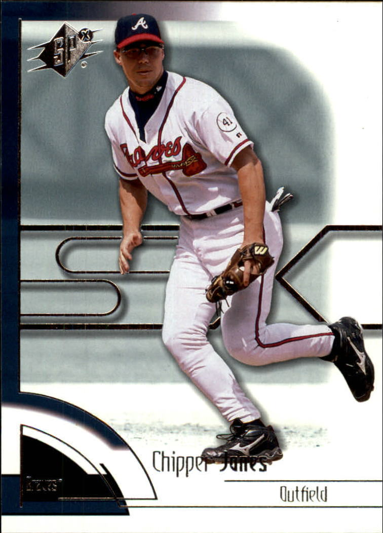 2002 SPx #46 Chipper Jones