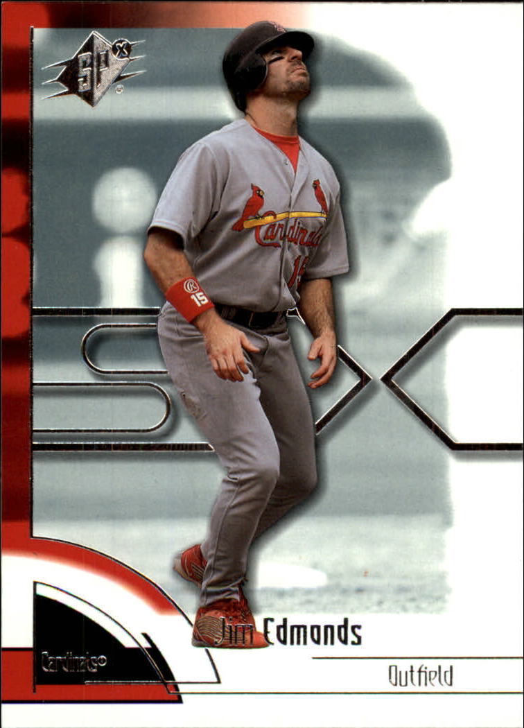 2002 SPx #54 Jim Edmonds