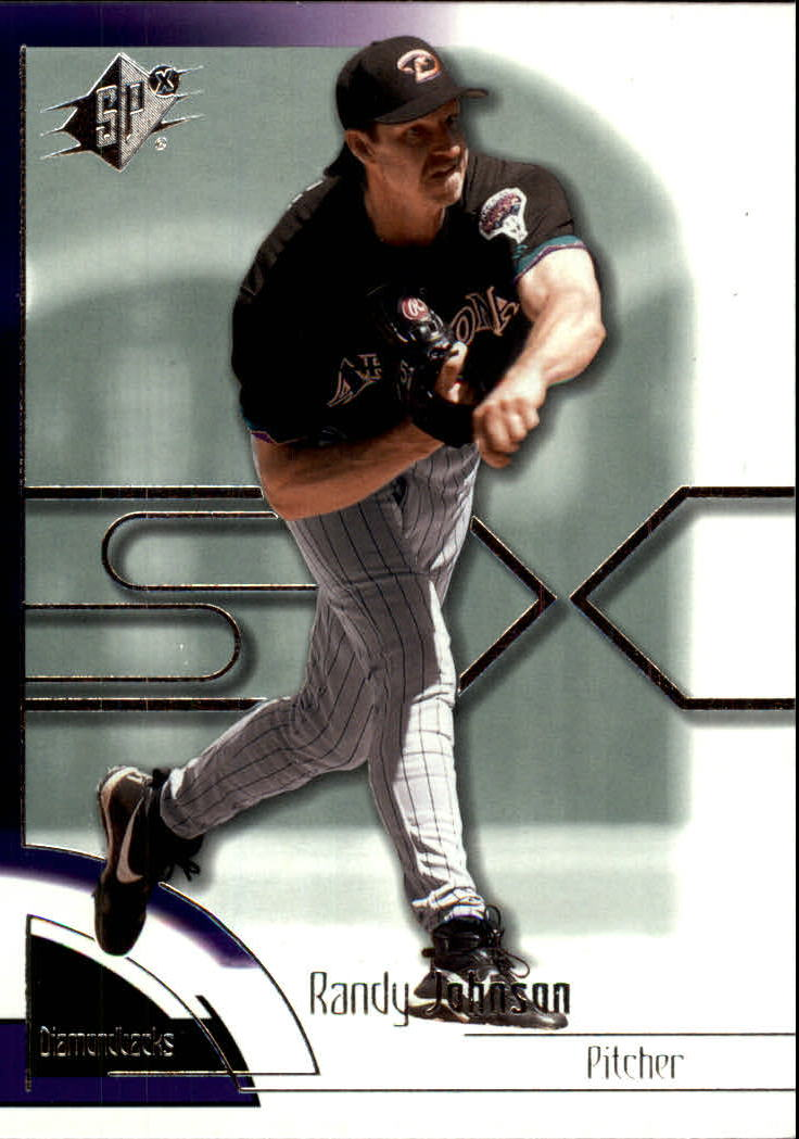 2002 SPx #60 Randy Johnson