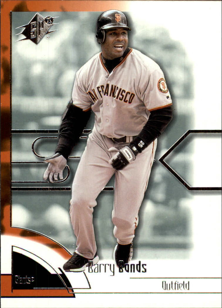 2002 SPx #68 Barry Bonds front image