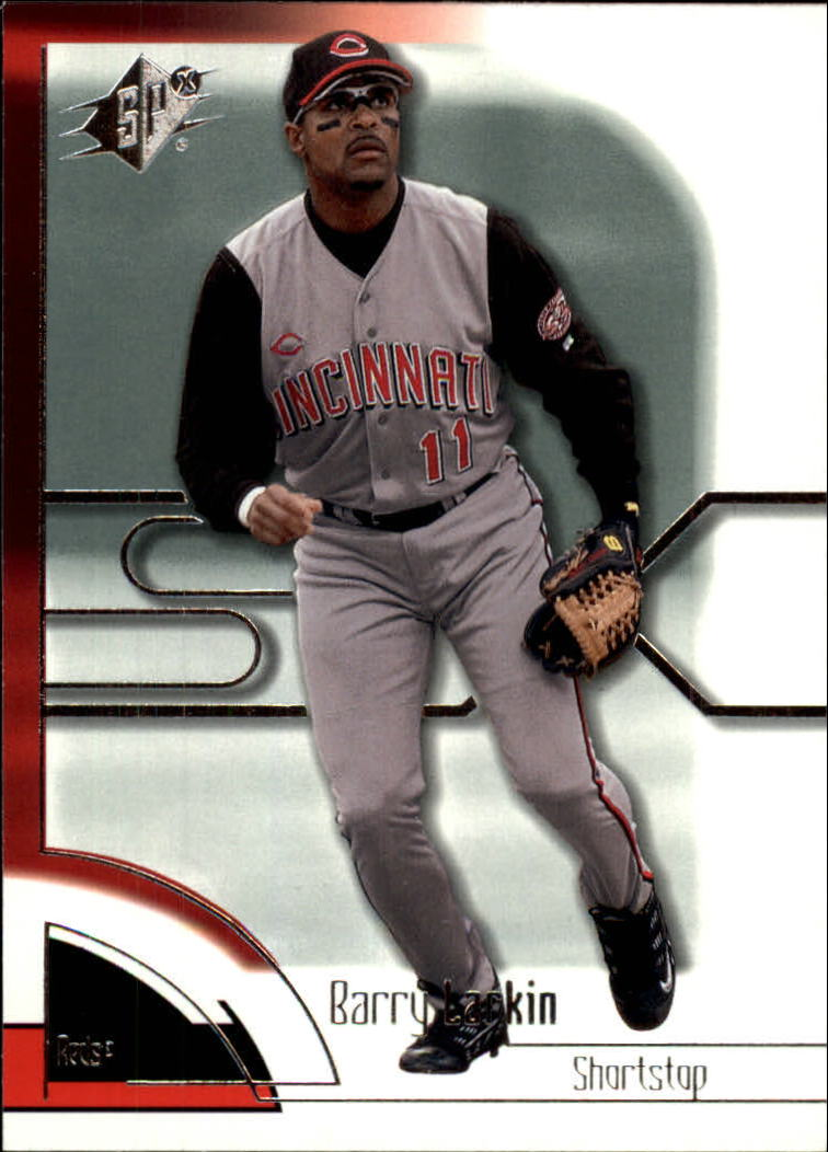 2002 SPx #87 Barry Larkin