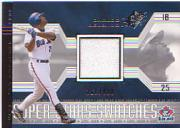 2002 SPx #157 Carlos Delgado JSY/800