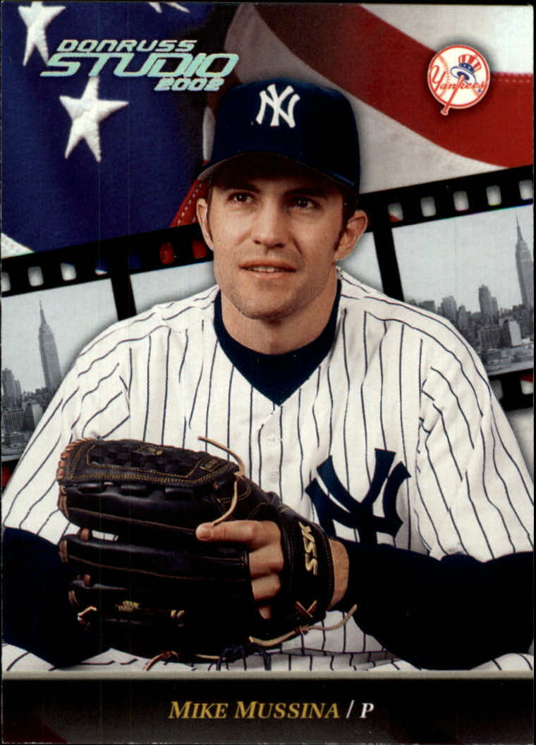 2002 Studio #117 Mike Mussina