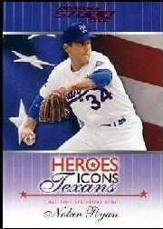 2002 Studio Heroes Icons Texans #HIT2 Nolan Ryan/100