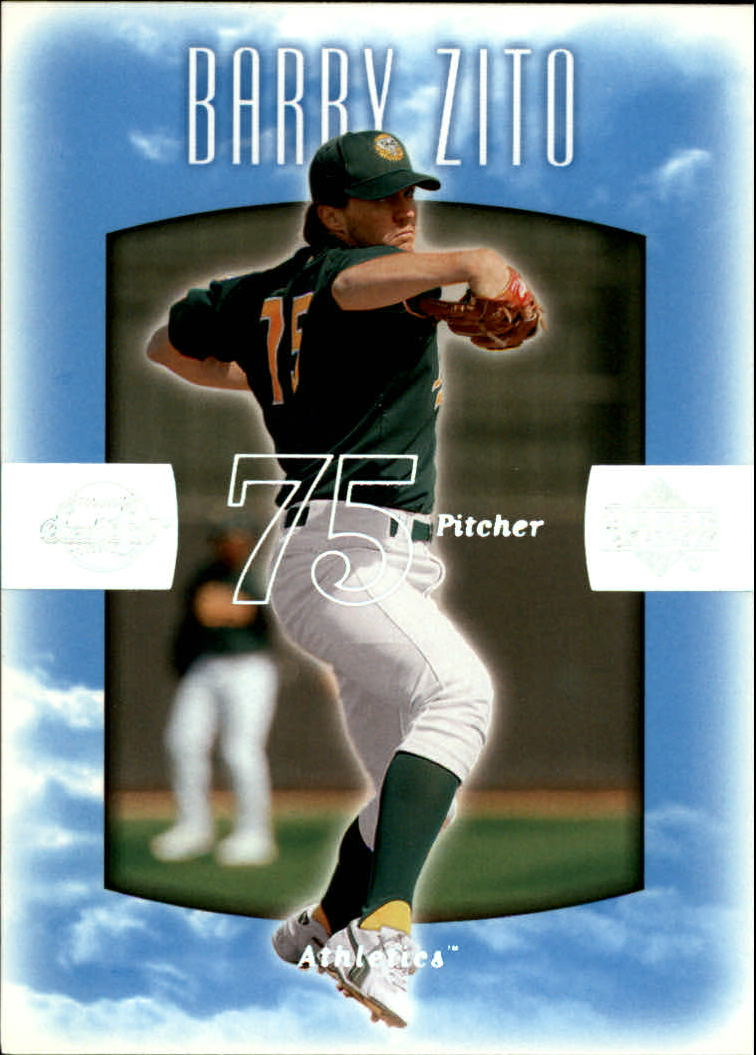 2002 Sweet Spot #5 Barry Zito