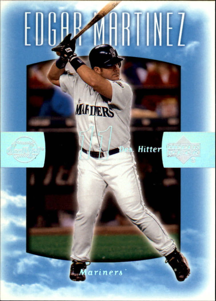 2002 Sweet Spot #14 Edgar Martinez