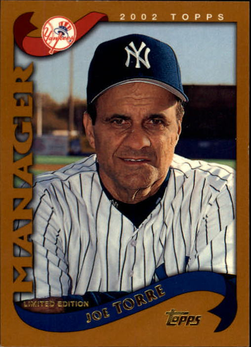 2002 Topps Limited #305 Joe Torre