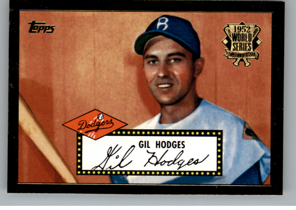 2002 Topps 1952 Reprints #52R12 Gil Hodges