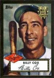 2002 Topps 1952 Reprints #52R13 Billy Cox