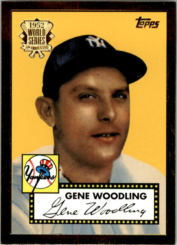 2002 Topps 1952 Reprints #52R15 Gene Woodling