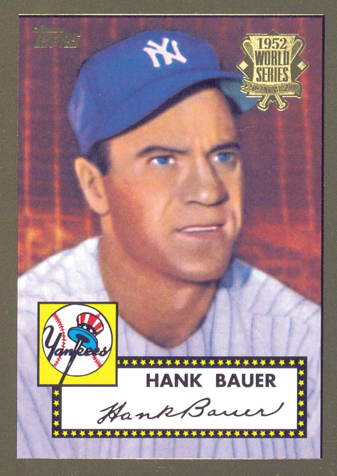 2002 Topps 1952 Reprints #52R19 Hank Bauer