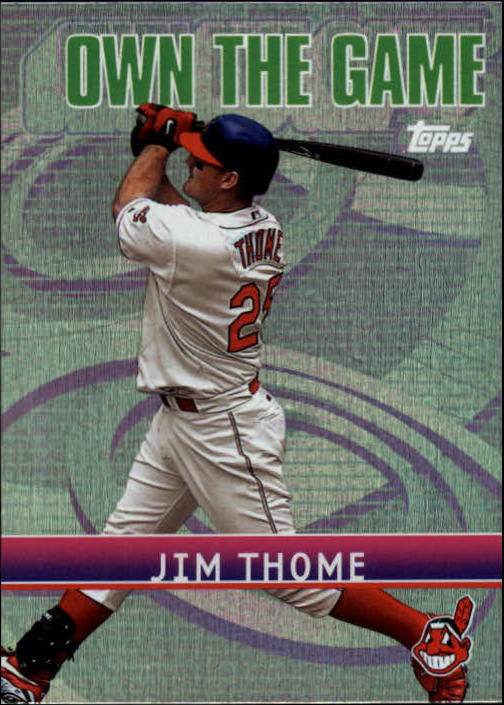 2002 Topps Own the Game #OG6 Jim Thome