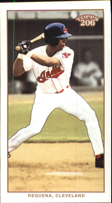 2002 Topps 206 Piedmont Red #276 Alex Requena FYP