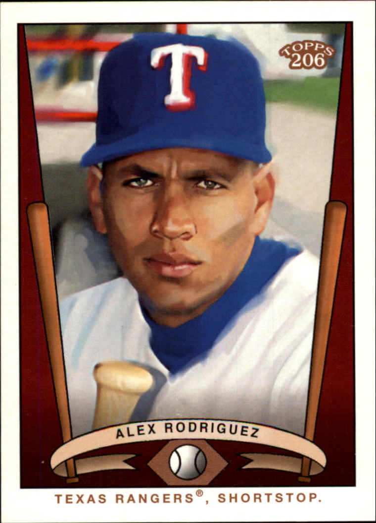 2002 Topps 206 Team 206 Series 2 #T2061 Alex Rodriguez