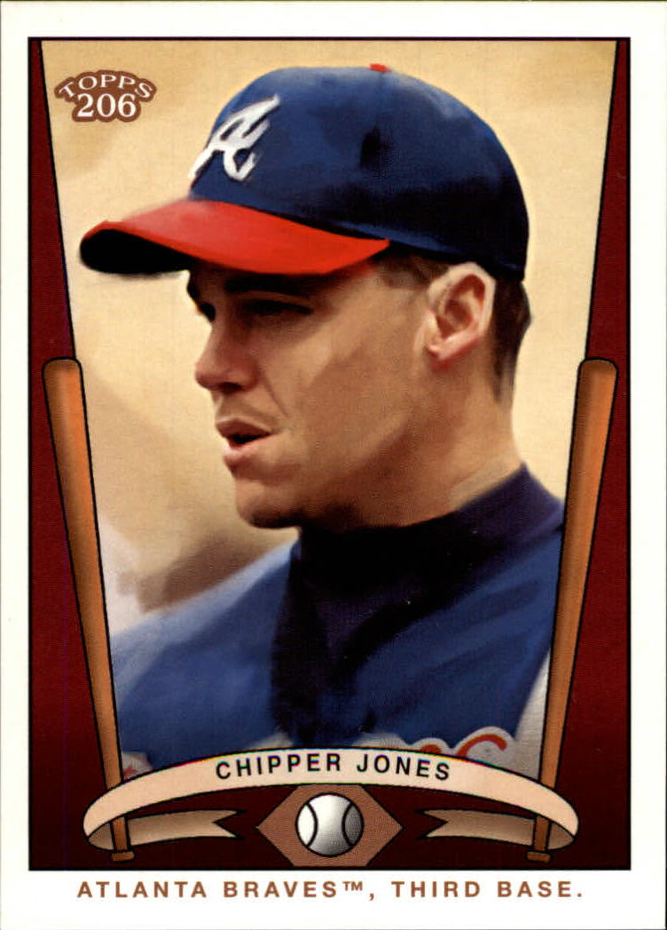 2002 Topps 206 Team 206 Series 2 #T2066 Chipper Jones