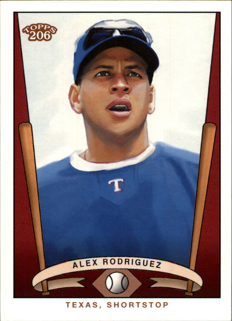 2002 Topps 206 Team 206 Series 3 #3 Alex Rodriguez