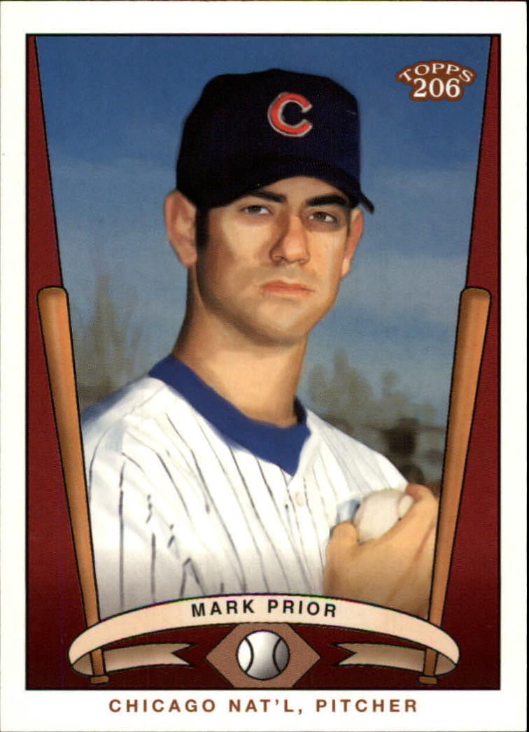 2002 Topps 206 Team 206 Series 3 #4 Mark Prior