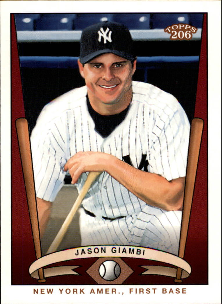 2002 Topps 206 Team 206 Series 3 #9 Jason Giambi