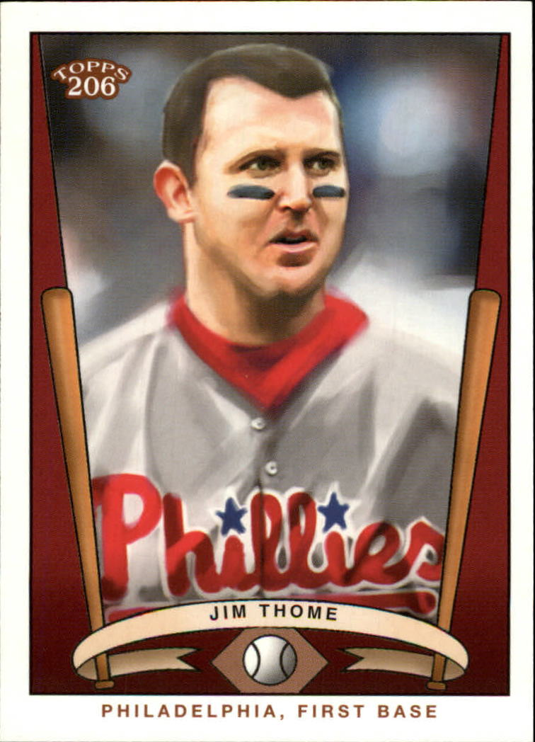 2002 Topps 206 Team 206 Series 3 #12 Jim Thome Phillies