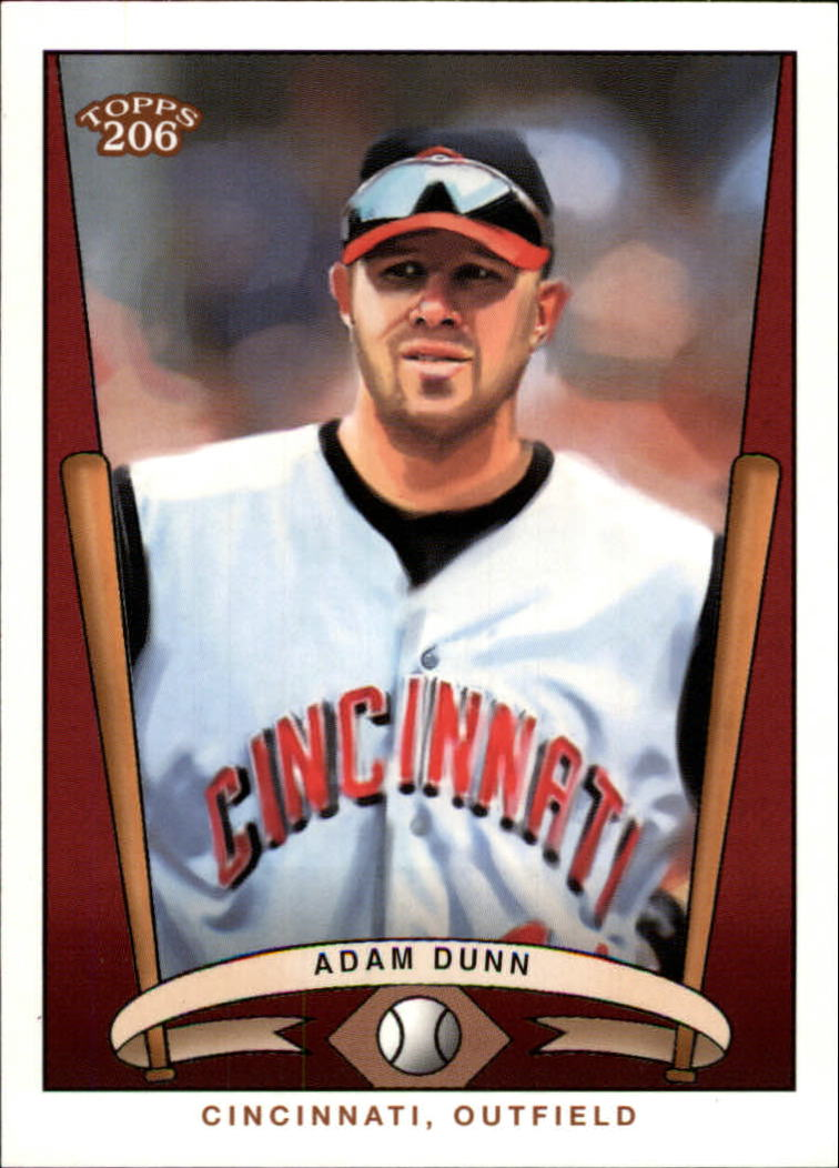 2002 Topps 206 Team 206 Series 3 #13 Adam Dunn