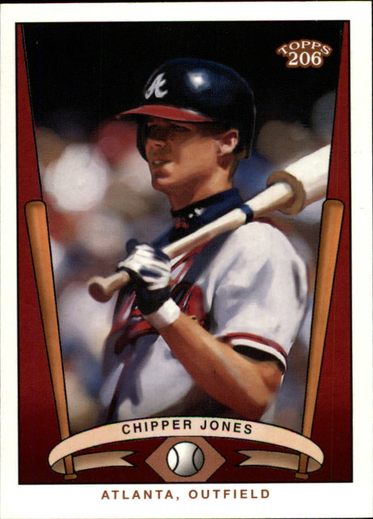 2002 Topps 206 Team 206 Series 3 #16 Chipper Jones
