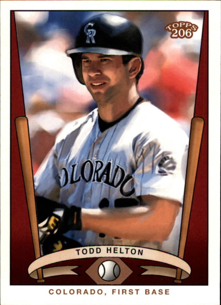 2002 Topps 206 Team 206 Series 3 #18 Todd Helton