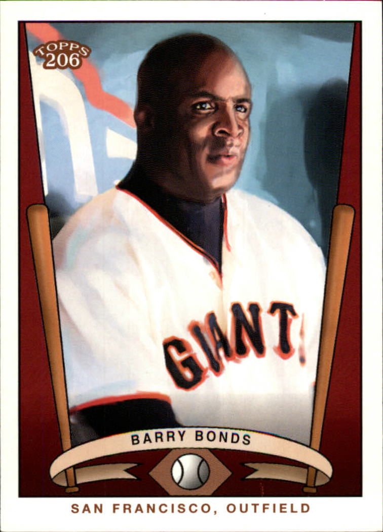 2002 Topps 206 Team 206 Series 3 #29 Barry Bonds
