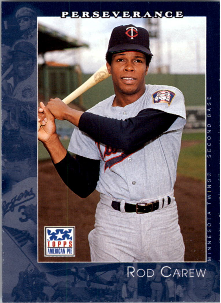2002 Topps American Pie #7 Rod Carew