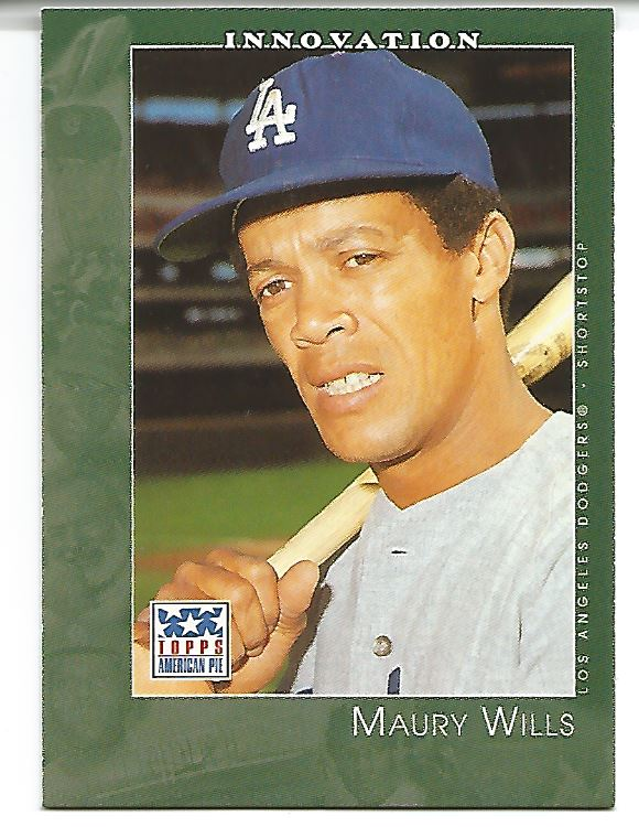 2002 Topps American Pie #29 Maury Wills