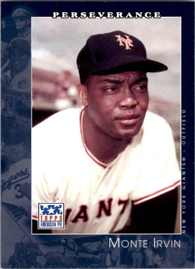 2002 Topps American Pie #39 Monte Irvin