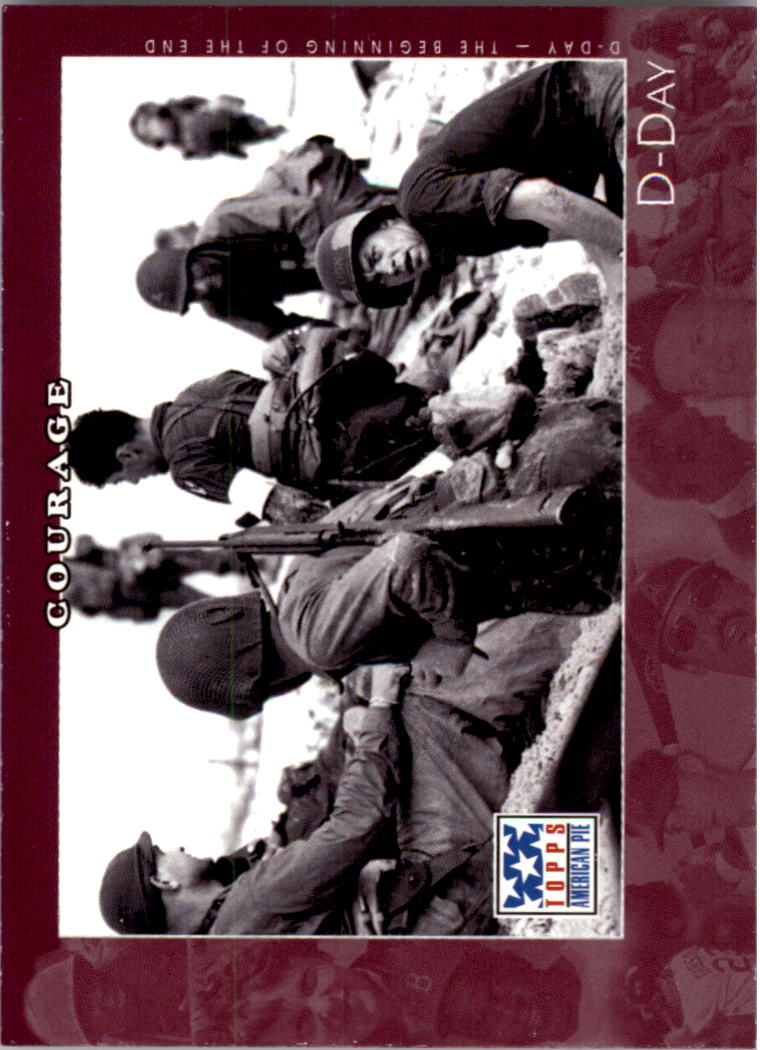 2002 Topps American Pie #51 D-Day