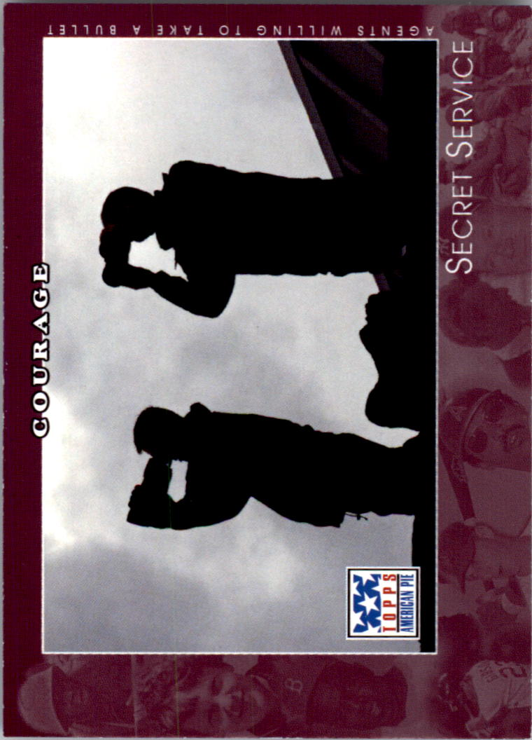 2002 Topps American Pie #55 Secret Service