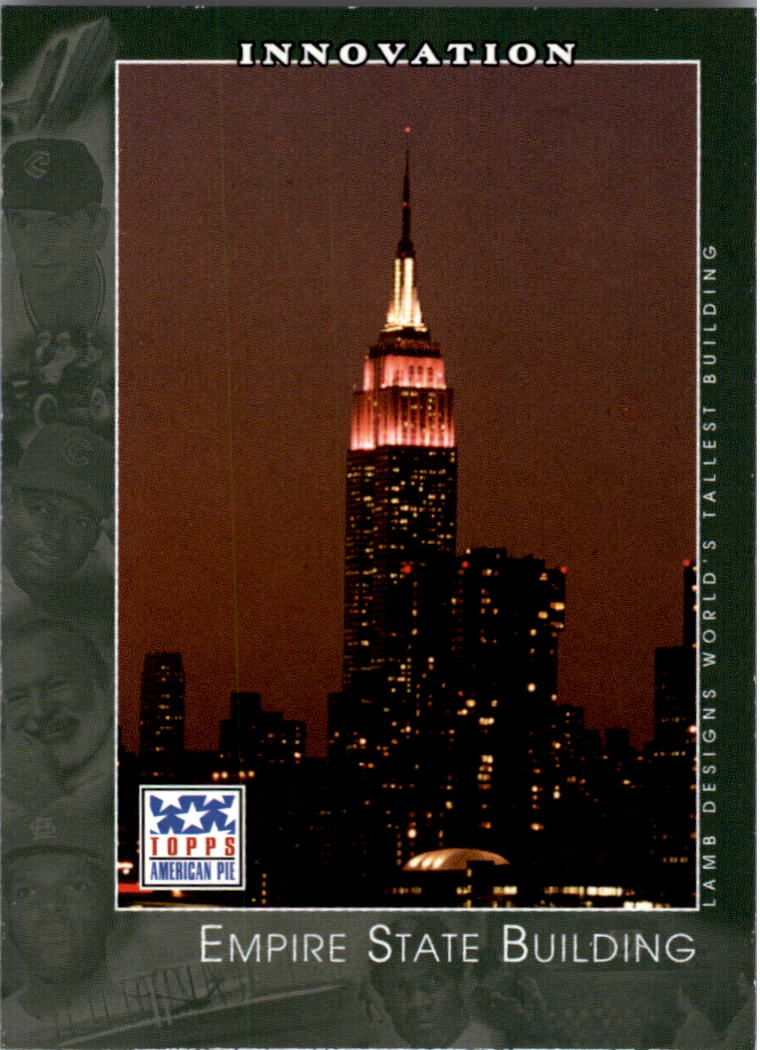 2002 Topps American Pie #60 Empire State Building