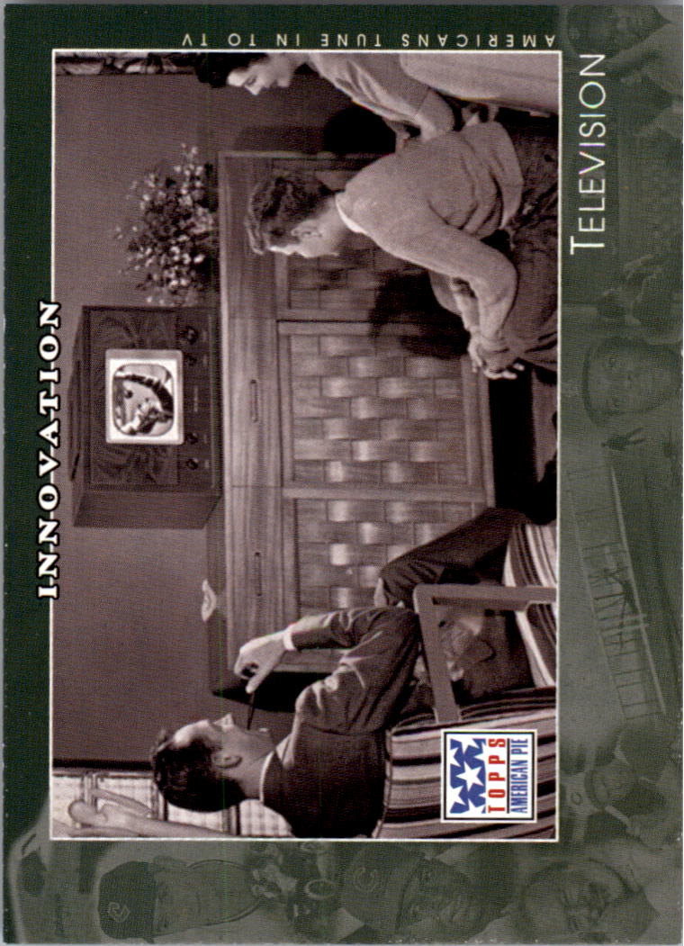 2002 Topps American Pie #61 Television