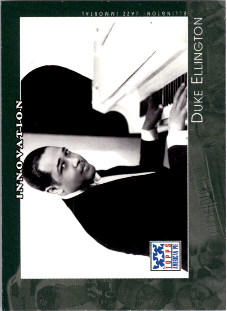 2002 Topps American Pie #62 Duke Ellington